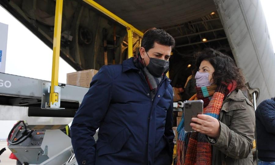 """Wado de Pedro y Vizzotti aseguraron que """"todo el Estado nacional está  centrado en dar respuesta a esta pandemia"""" - Diario La Mañana"""